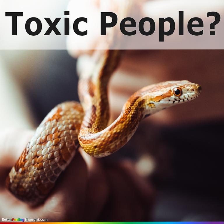 Isn't it toxic to judge toxic people?